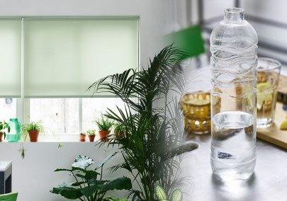 Sådan ender dine genbrugte flasker I dit vindue
