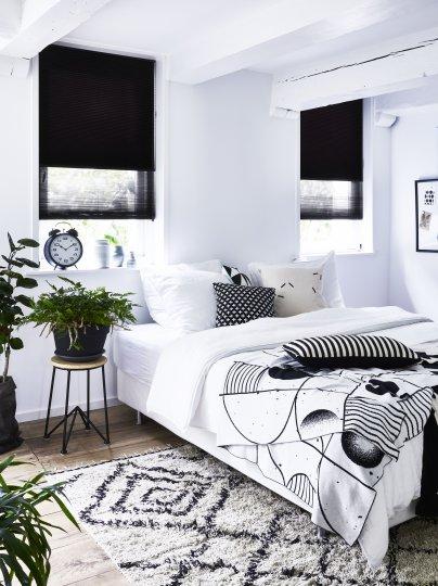 Soveværelse Slider Dupli gardiner 1