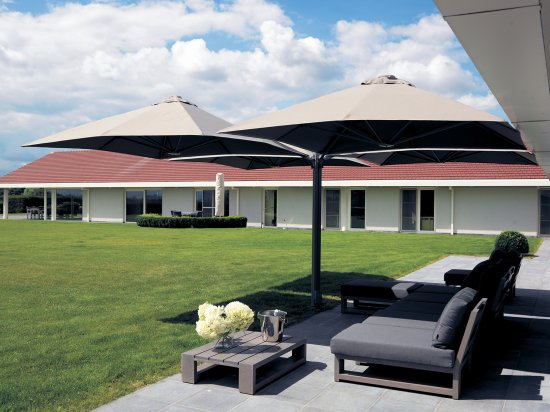 Op til 38 m² skygge