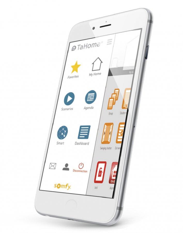 TaHoma® app-styring